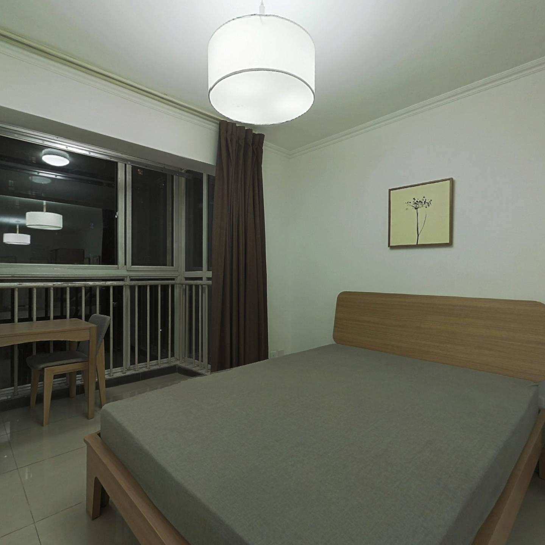 整租·郁花园三里 1室1厅 南卧室图