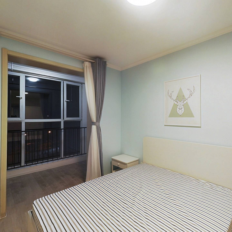 整租·荔景园新区 2室1厅 南北卧室图