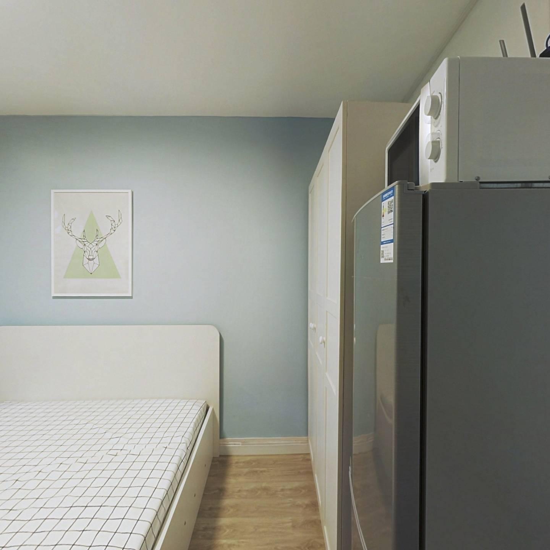 整租·范北小区 1室1厅 南卧室图
