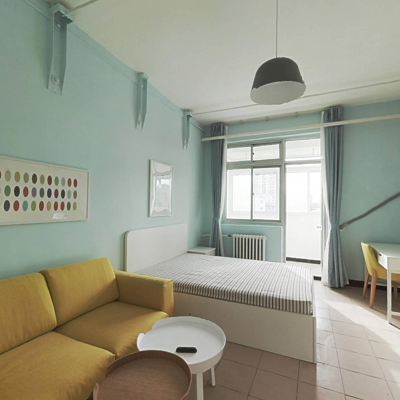 整租·砖角楼北里 2室1厅 南卧室图