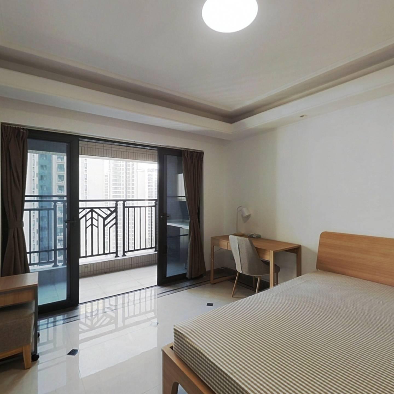 合租·中海锦观华庭(D区) 5室1厅 东北卧室图