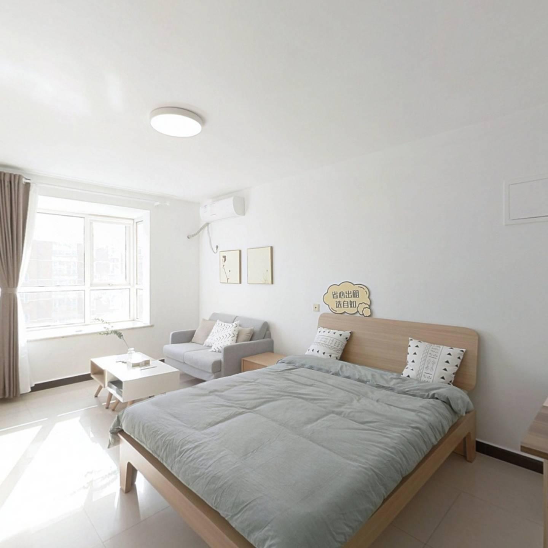 整租·博客园 1室1厅 南卧室图