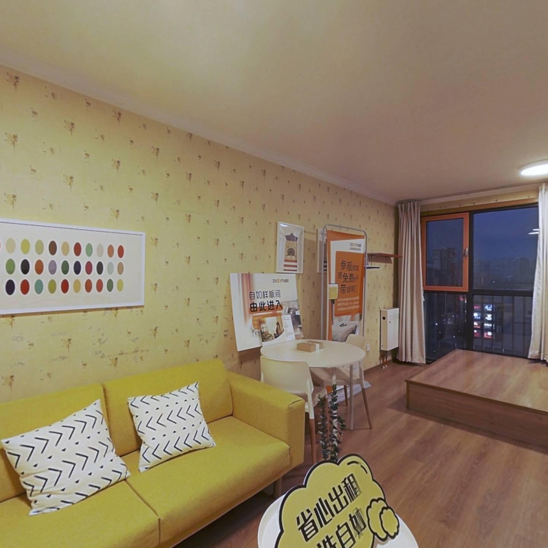 整租·柏林爱乐三期 1室1厅 西卧室图
