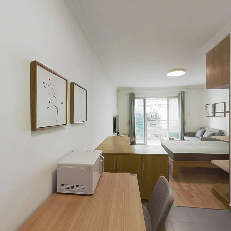 整租·合正佳园 1室1厅 南卧室图