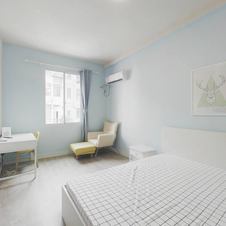 整租·上港小区 1室1厅 南卧室图