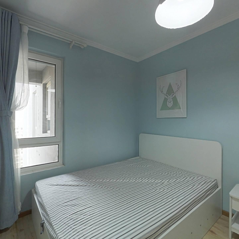 整租·东亚上北中心 1室1厅 北卧室图