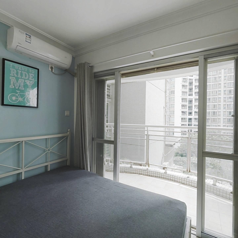 合租·翠城花园 3室1厅 南卧室图
