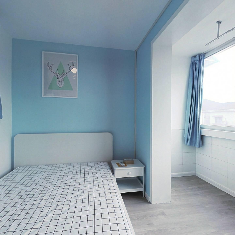 整租·黄山一村 1室1厅 南卧室图