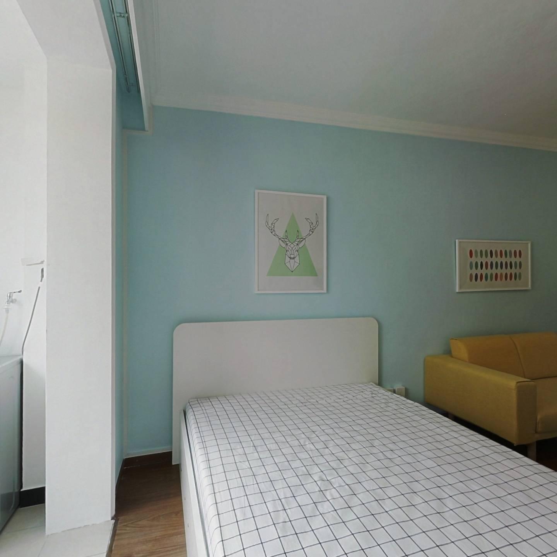 整租·万春小区 1室1厅 南卧室图