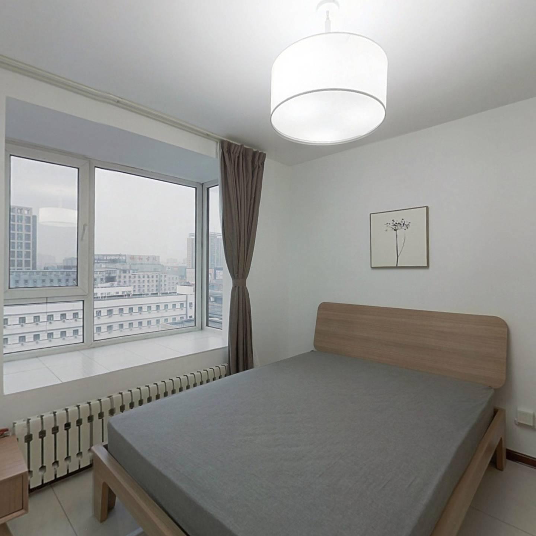 整租·奥北南区 1室1厅 北卧室图