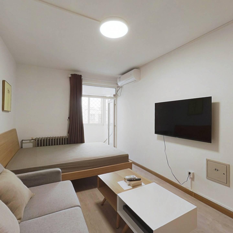 整租·新街口西里三区 2室1厅 南北卧室图