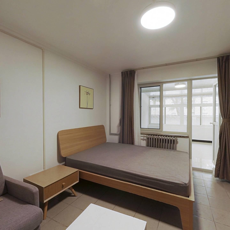 整租·石榴园北里小区 1室1厅 南卧室图