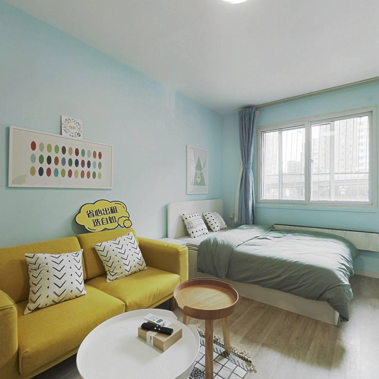整租·复兴门外大街 1室1厅 南卧室图