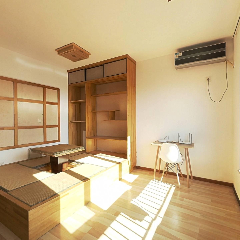 整租·阳光花园 1室1厅 南卧室图