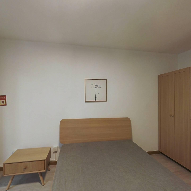 整租·渭南路141号 2室1厅 东南卧室图