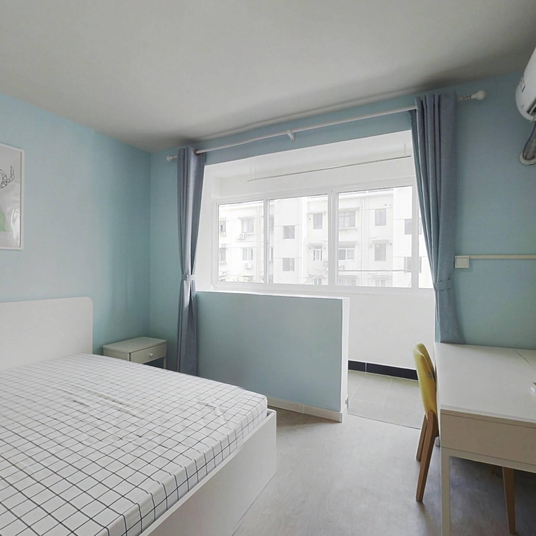 整租·齐二小区 1室1厅 南卧室图
