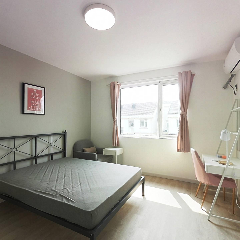 合租·顺馨佳园 4室1厅 南卧室图