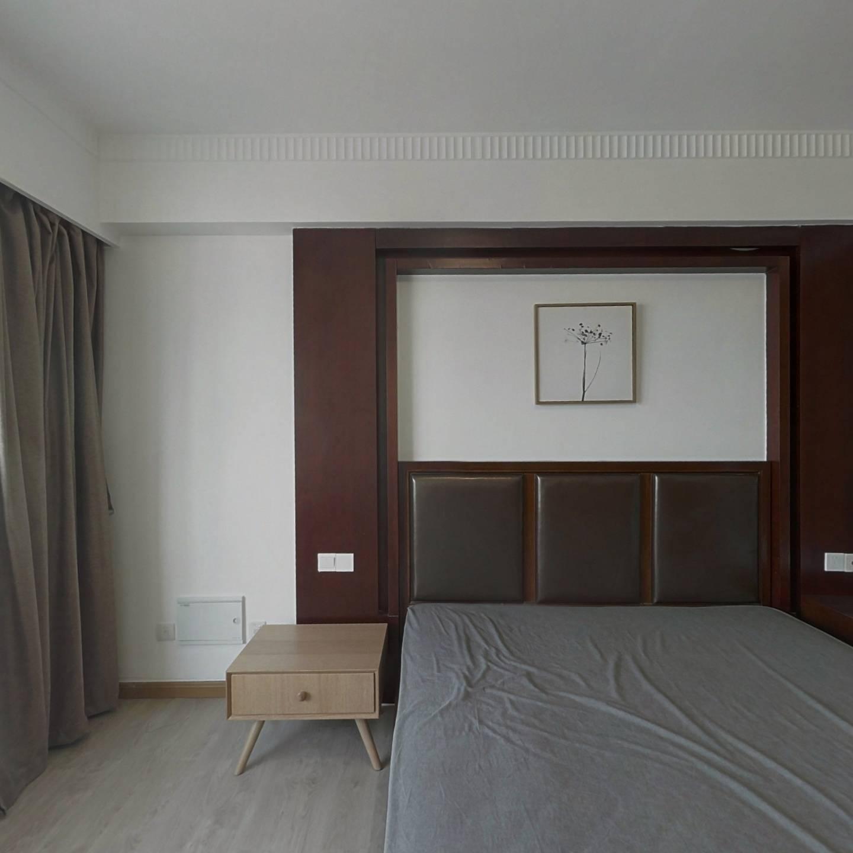 整租·静安紫苑 1室1厅 西南卧室图