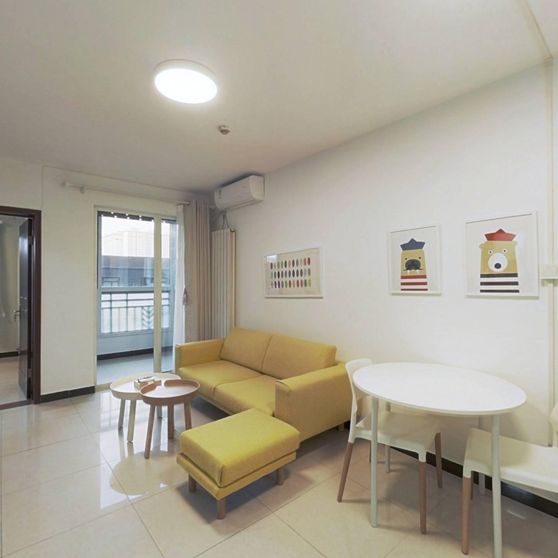 整租·中海城紫鑫阁 1室1厅 北卧室图
