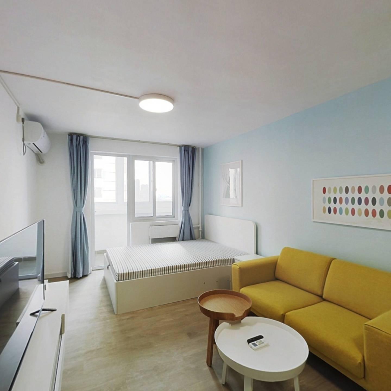 整租·安慧里二区 1室1厅 南卧室图