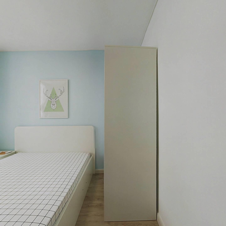 整租·化工小区(长宁) 2室1厅 南北卧室图