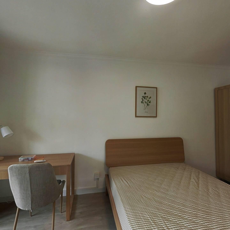 合租·中阳小区 2室1厅 南卧室图