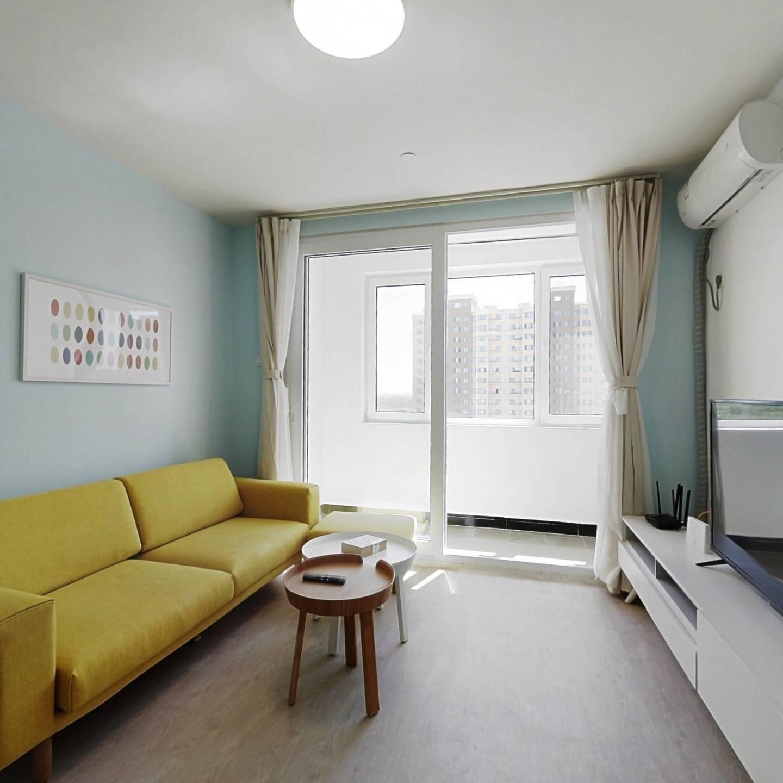 整租·长景新园 2室1厅 南北卧室图
