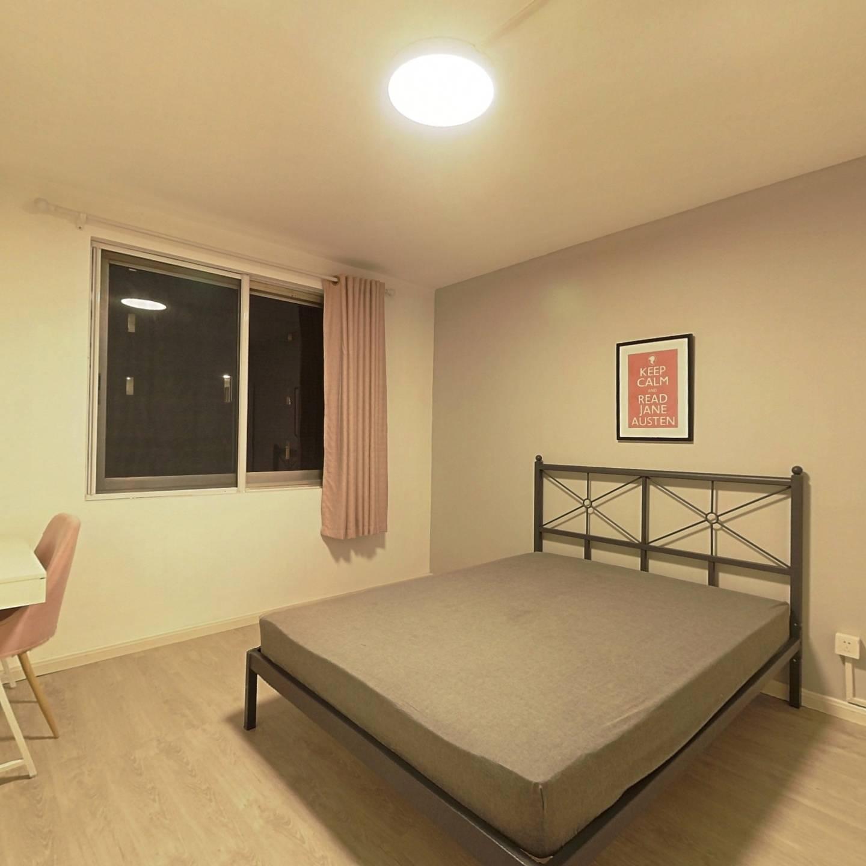 合租·安康大楼 3室1厅 南卧室图