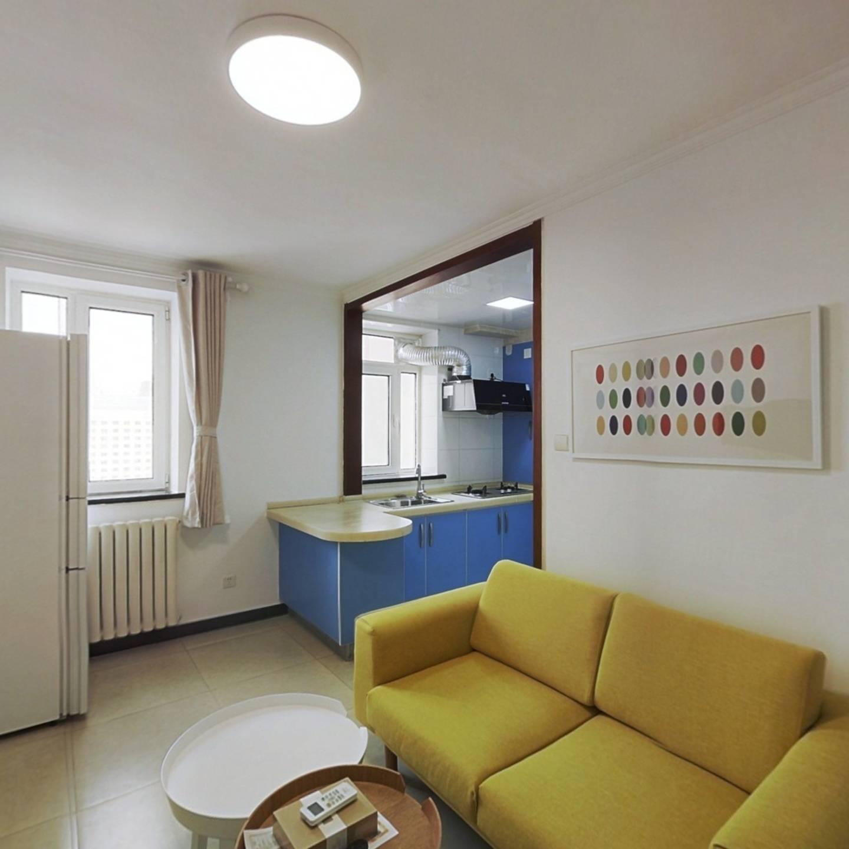整租·安华西里社区 2室1厅 西南卧室图