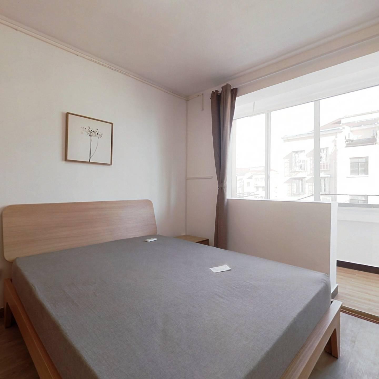 整租·银都新村(1至7区) 2室1厅 南卧室图
