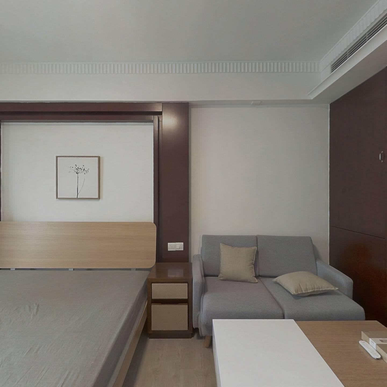整租·静安紫苑 1室1厅 东南卧室图