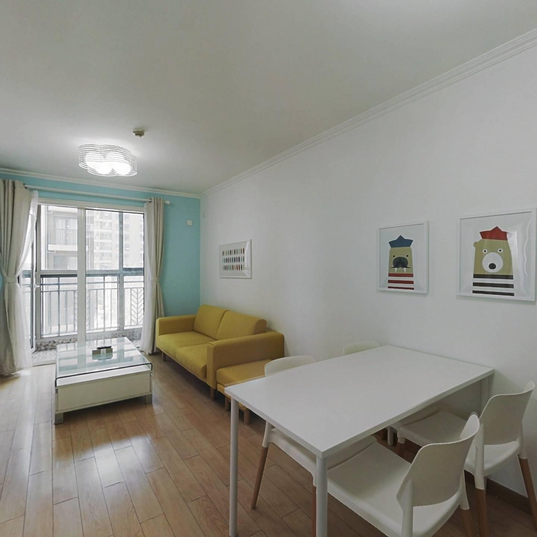 整租·中海城紫鑫阁 2室1厅 东南卧室图