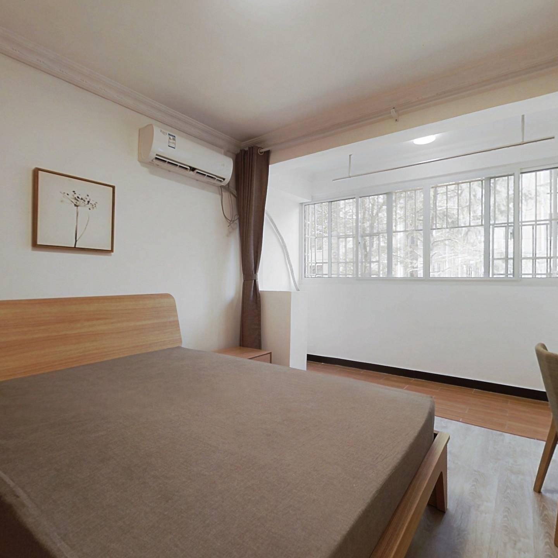 整租·罗阳四村 2室1厅 南北卧室图