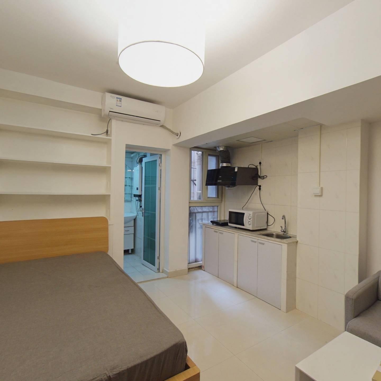 国际名园23.96平单身公寓诚售 看房方便