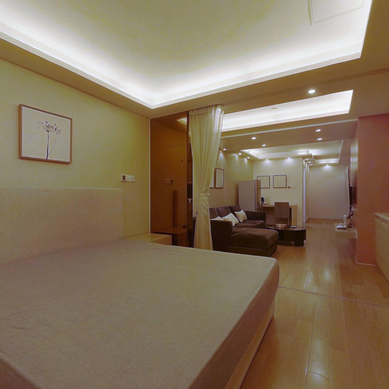 整租·静安艺庭 1室2厅 北卧室图