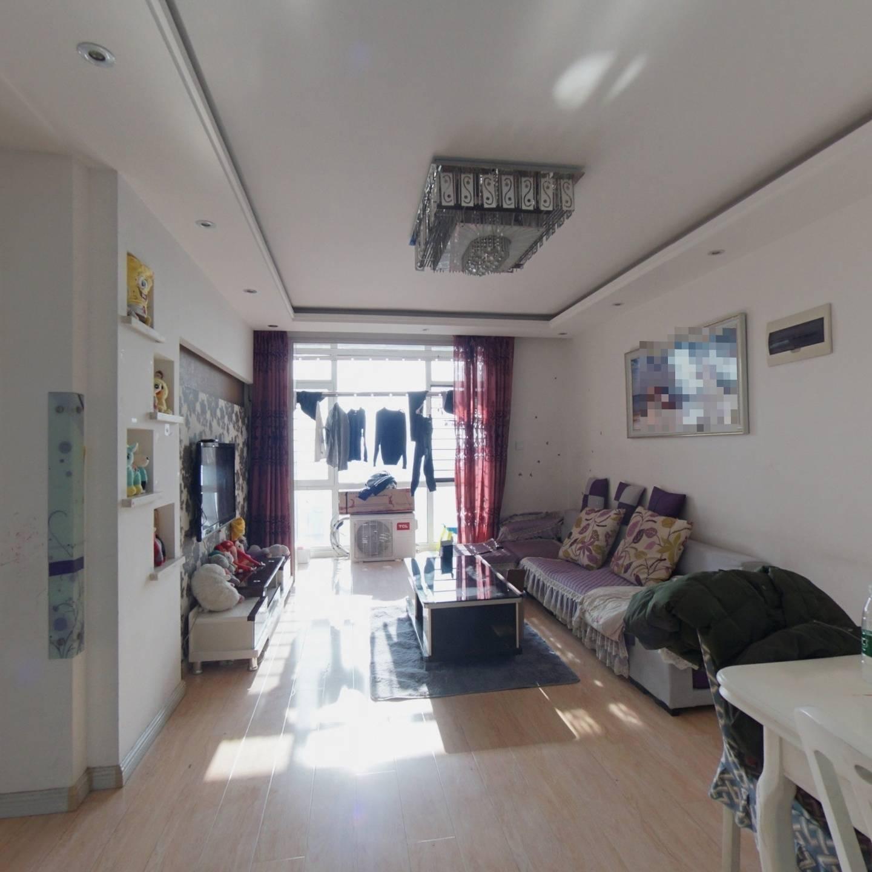 岭湾峰尚 南客厅落地窗精装修 2室1厅