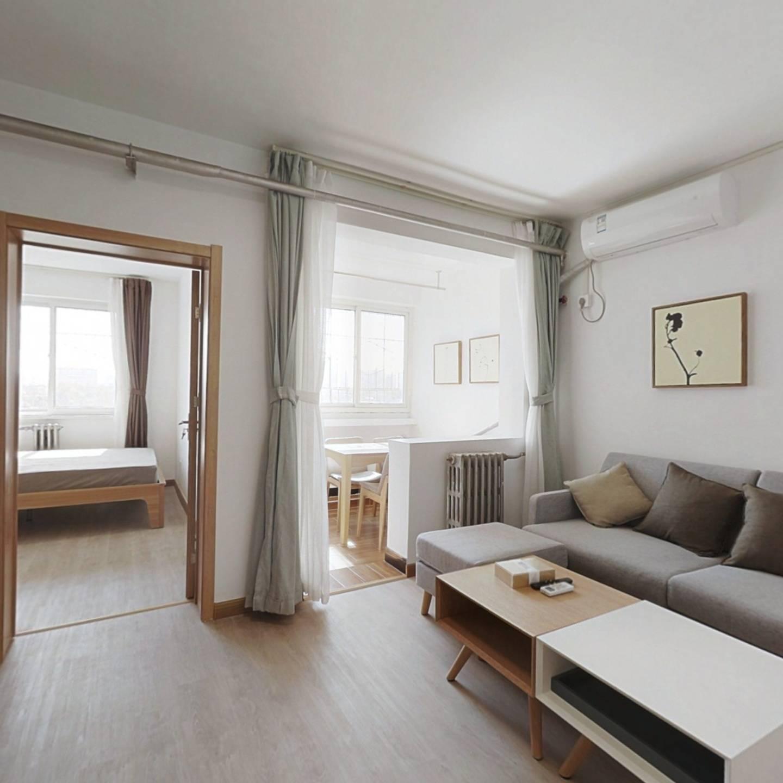 整租·望园西里 2室1厅 南北卧室图