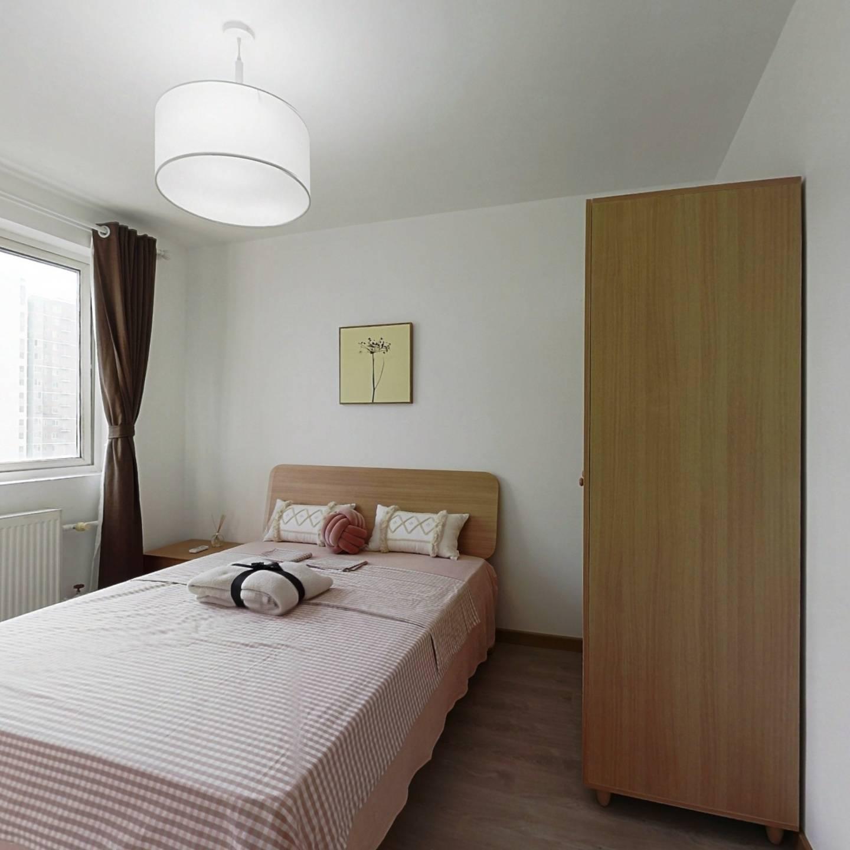 整租·旗胜家园 2室1厅 西南卧室图