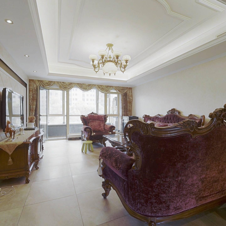 小区中间南北通透双卧室朝南3居室满五年唯一精装修