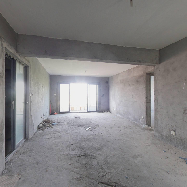 塘朗山脚下129.17㎡复式五居室 纯毛坯高楼层视野开阔