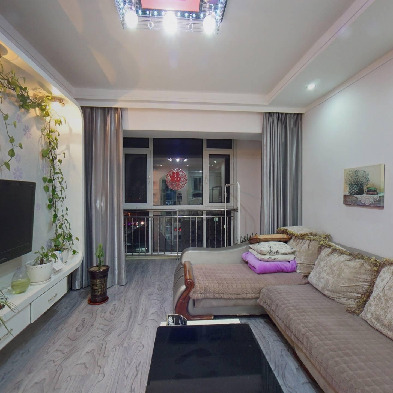 岭湾峰尚一期 五明户型 精装修 视野好 两室一厅