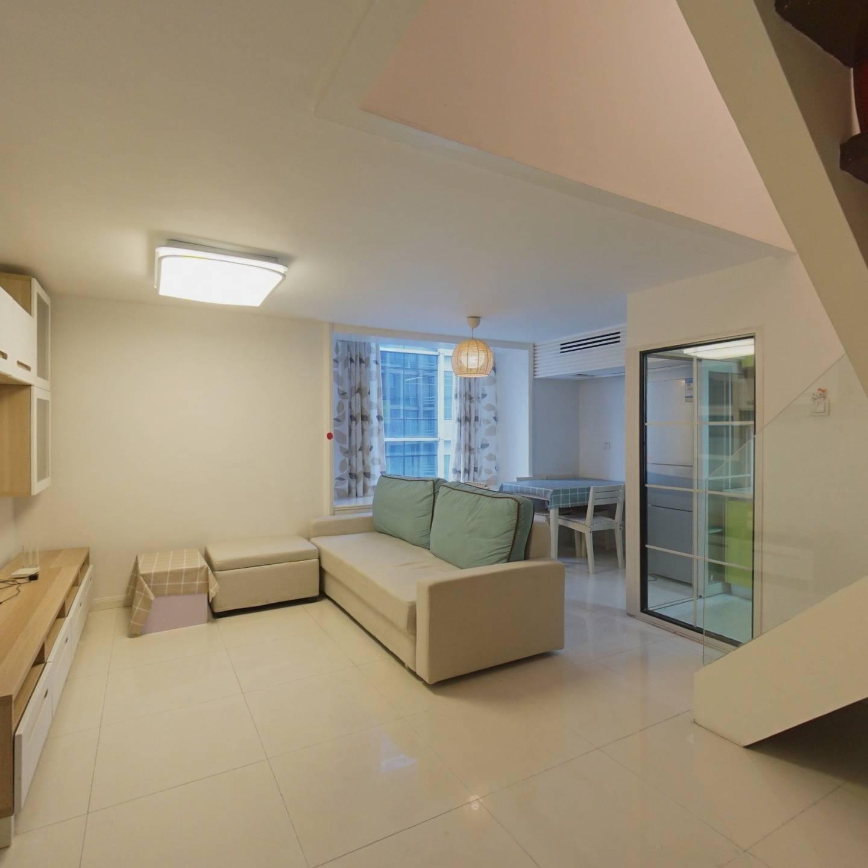世金汉宫复式小户型,精装可自住出租 满五年住宅产权