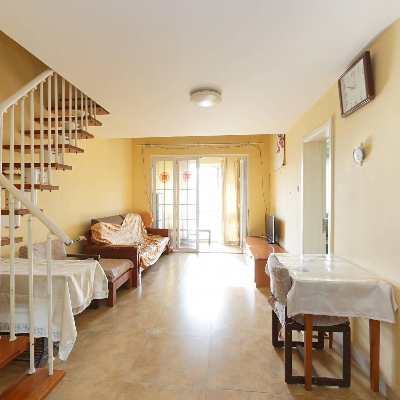 一类经济适用房顶层一居室房子挑高5.2米