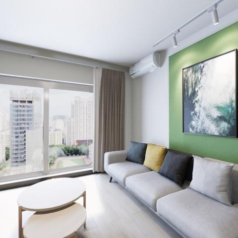 北京整租后现代城D区租房户型实景图