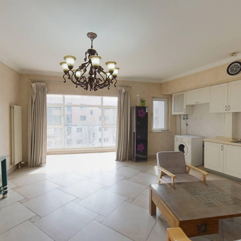 世华水岸F区,正规两居室,南北通透,有钥匙随时看房
