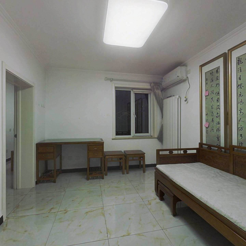 菊园满五年唯一低楼层一居室,南北通透 精装修