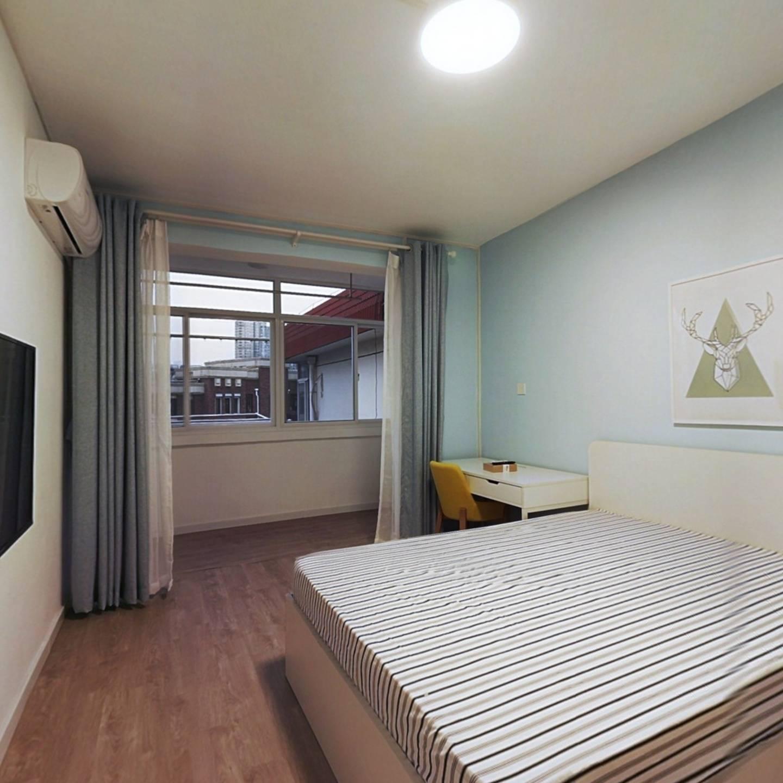 整租·新河二村 2室1厅 南北卧室图