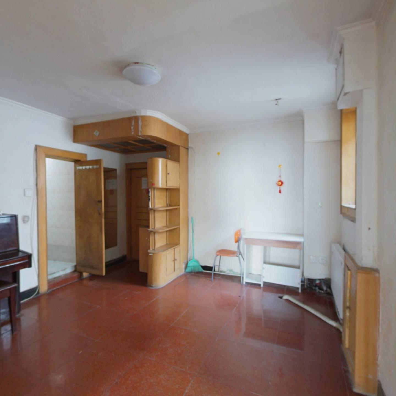 西直门 红联北村 双南向两居室 满五年公房 业主诚售