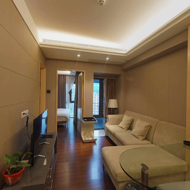 滨河时代精装公寓,高层,红本,诚售